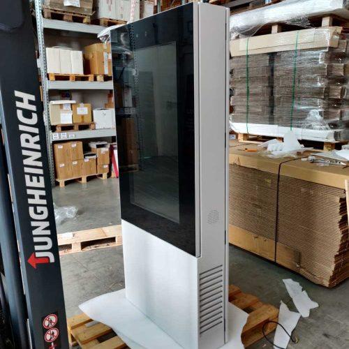 Installazione Digital Time da esterno